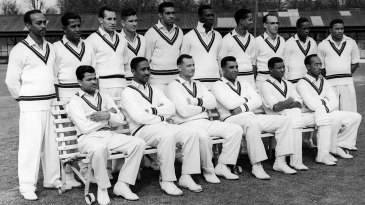 The West Indies touring party to England in 1957