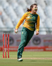 Sune Luus took two wickets with her legspin, South Africa Women v England Women, 2nd T20, Cape Town, February 19, 2016