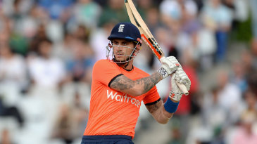 Alex Hales helped get England off to a good start