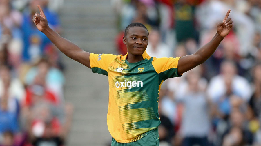 Kagiso Rabada separated them, having Roy caught at midwicket