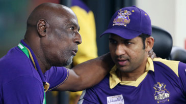 Quetta Gladiators mentor Viv Richards in conversation with Sarfraz Ahmed