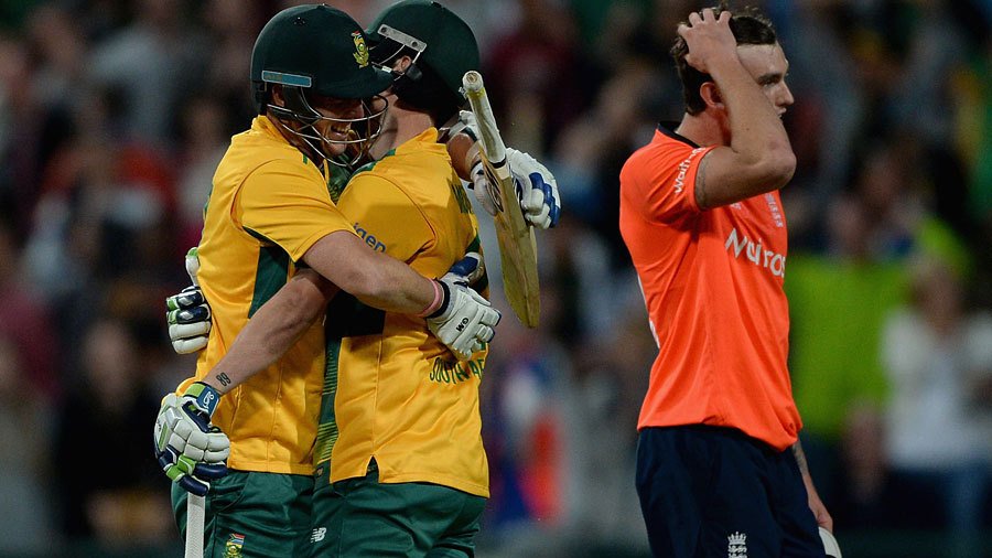 Morris was the hero again but Topley was distraught as South Africa won by three wickets