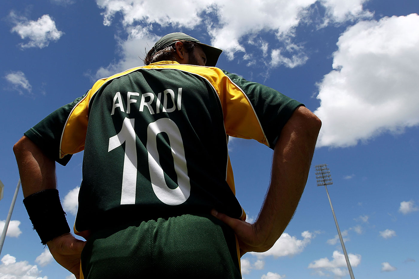 Jersey No. 10: Shahid Afridi takes the field