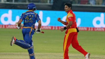 Mohammad Sami ended with figures of 4-0-8-5