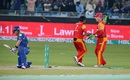 Riki Wessels was bowled by Mohammad Sami for 1, Islamabad United v Karachi Kings, Pakistan Super League, 2nd qualifying final, Dubai, February 20, 2016