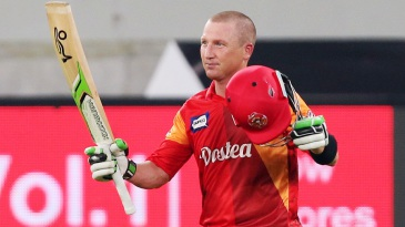 Brad Haddin smashed 52 off 29 to take Islamabad home