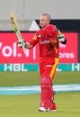 Brad Haddin smashed 52 off 29 to take Islamabad home, Islamabad United v Karachi Kings, Pakistan Super League, 2nd qualifying final, Dubai, February 20, 2016