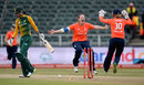 South Africa were in early trouble during the deciding match when Anya Shrubsole struck twice in two balls, South Africa Women v England Women, 3rd T20, Johannesburg, February 21, 2016