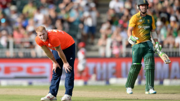 England's bowlers had no answer to the early onslaught