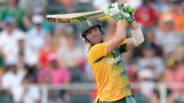 AB de Villiers brought off his full range of strokes