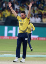 Shaun Tait struck off consecutive deliveries, Islamabad United v Peshawar Zalmi, Pakistan Super League, 3rd Qualifying final, Dubai, February 21, 2016