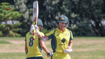 Meg Lanning scored her seventh ODI hundred