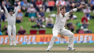 James Pattinson makes an appeal