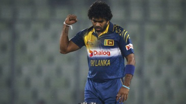 Lasith Malinga ended with figures of 4 for 26