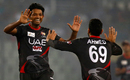 UAE captain Amjad Javed took wickets off successive deliveries in the 18th over, Bangladesh v UAE, Asia Cup 2016, Mirpur, February 26, 2016