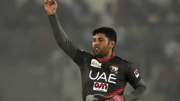 Mohammad Naveed finished with economical returns of 2 for 12