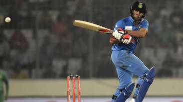 Yuvraj Singh targets the leg side