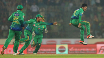 Mohammad Amir picked up three early wickets
