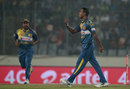 Nuwan Kulasekara got rid of Soumya Sarkar for a duck, Bangladesh v Sri Lanka, Asia Cup T20, Mirpur, February 28, 2016