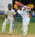 Roston Chase saw Barbados home with an unbeaten 35, Trinidad & Tobago v Leeward Islands, Regional 4-Day Tournament, 3rd day, Couva, February 28, 2016