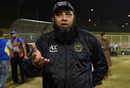 Afghanistan coach Inzamam-ul-Haq speaks to the media, Noida, March 1, 2016