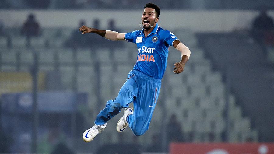 Cricketer Hardik Pandya in complete form (Cricinfo)