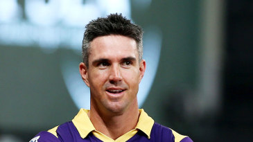 Kevin Pietersen and Luke Wright talk ahead of the final