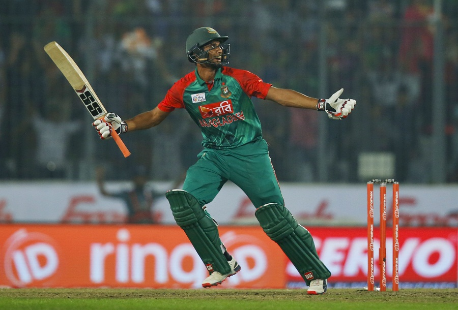 Mahmudullah Mahmudullah gains redemption for Bangladesh after stumble in 2012