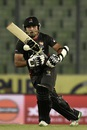 Shaiman Anwar provided some resistance for UAE, India v UAE, Asia Cup 2016, Mirpur, March 3, 2016