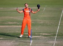 Vivian Kingma took two wickets, Afghanistan v Netherlands, World T20 warm-ups, Mohali, March 4, 2016