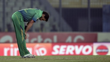 Shahid Afridi did not have many answers to Sri Lanka's openers early on