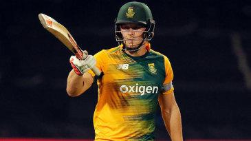 David Miller made his maiden T20 international fifty