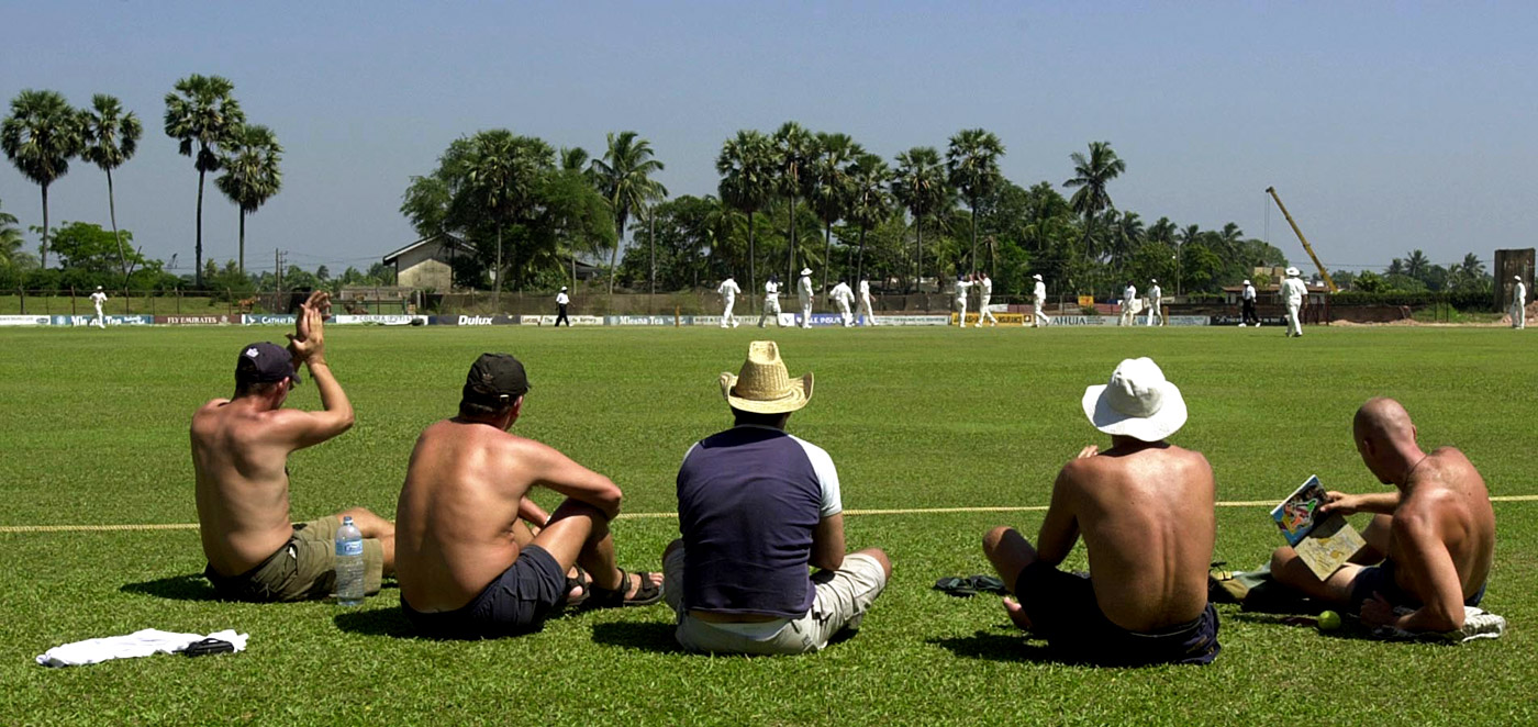 Come for the cricket, stay for the tans