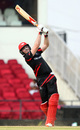 Jamie Atkinson takes the aerial route, Hong Kong v Zimbabwe, WT20 qualifier, Group B, Nagpur, March 8, 2016