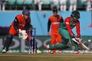 Sabbir Rahman tries to help one behind square, Bangladesh v Netherlands, World T20 qualifier, Group A, Dharamsala, March 9, 2016