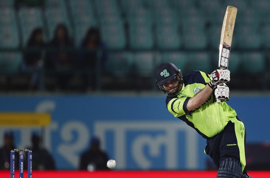Paul Stirling gave Ireland a strong start with some crisp drives after his side opted to bat in their World T20 opener against Oman in Dharamsala