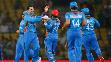 Mohammad Nabi produced a double-strike