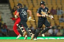 Josh Davey and Richie Berrington mounted a late charge, Scotland v Zimbabwe, Group B, World T20, Nagpur, March 10, 2016