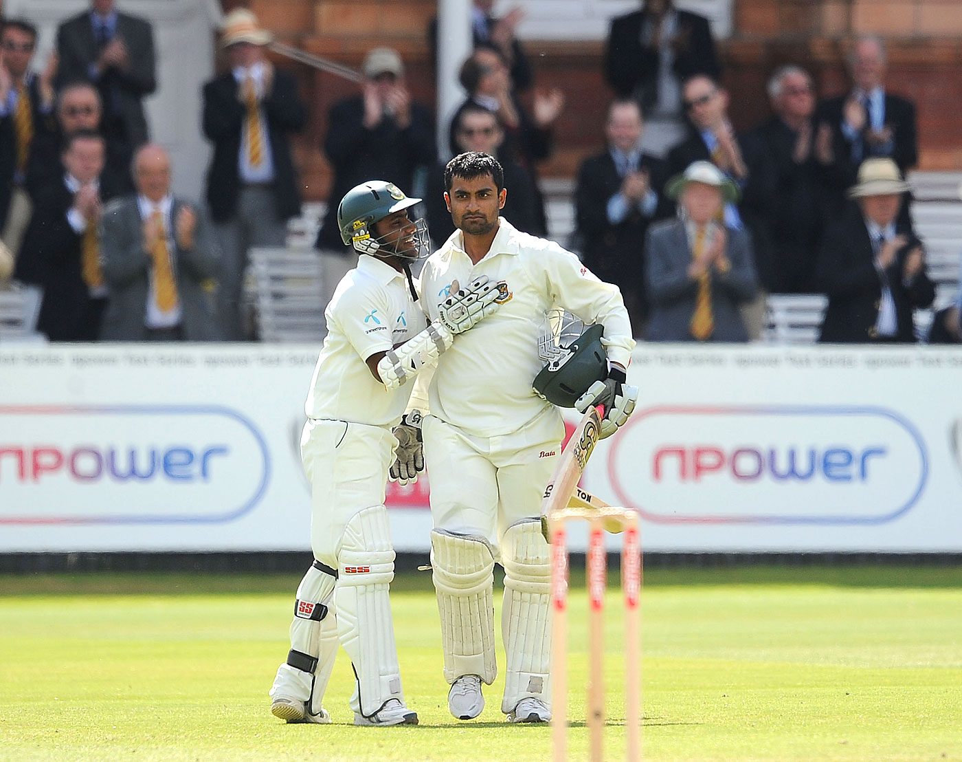 We <i>do</i> belong: Tamim and Kayes at Lord's