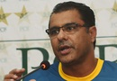 Waqar Younis speaks to the media, Lahore, March 11, 2016