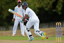 Kraigg Brathwaite finished the first day unbeaten on 105, Trinidad & Tobago v Barbados, Regional 4-day Tournament, 1st day, Trinidad, March 11, 2016