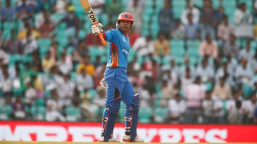 Mohammad Nabi acknowledges his fifty