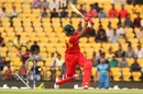 Hamilton Masakadza loses his middle stump, Afghanistan v Zimbabwe, World T20 qualifiers, Group B, Nagpur, March 12, 2016