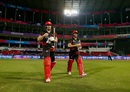 Hong Kong openers Jamie Atkinson and Ryan Campbell walk out to bat, Hong Kong v Scotland, World T20 qualifiers, Group B, Nagpur, March 12, 2016