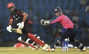 Anshuman Rath guides one past the wicketkeeper, Hong Kong v Scotland, World T20 qualifiers, Group B, Nagpur, March 12, 2016