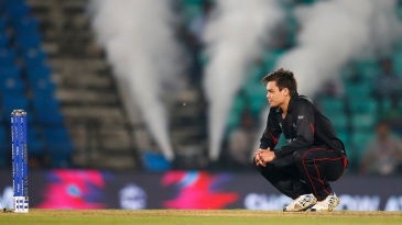 Mark Chapman wears a dejected look after Hong Kong's loss