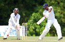 Kevin Stoute struck six fours in his knock of 66, Trinidad & Tobago v Barbados, Regional 4-day Tournament, 2nd day, Trinidad, March 12, 2016