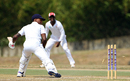 Kevin Stoute was bowled by Yannick Ottley for 66, Trinidad & Tobago v Barbados, Regional 4-day Tournament, 2nd day, Trinidad, March 12, 2016