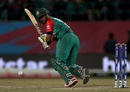 Sabbir Rahman clips one to the leg side, Bangladesh v Oman, World T20 qualifiers, Group A, Dharamsala, March 13, 2016
