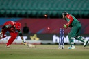 Amir Ali is stumped by Mushfiqur Rahim, Bangladesh v Oman, World T20 qualifiers, Group A, Dharamsala, March 13, 2016